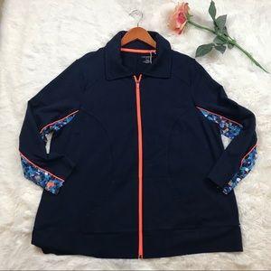 Catherines Petite Sports Jacket- Sz XL (0X)